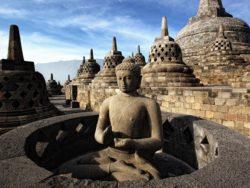 candi Borobudur dunia traveling